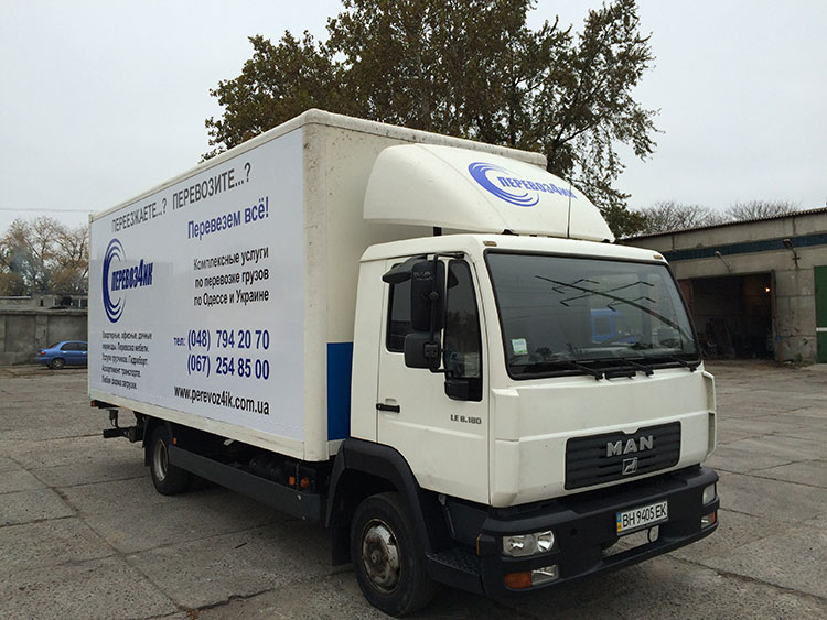 Man 8180 грузовые перевозки